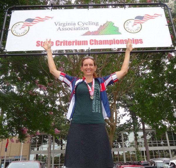 VA State Age-graded Champ Christine 08-09-14