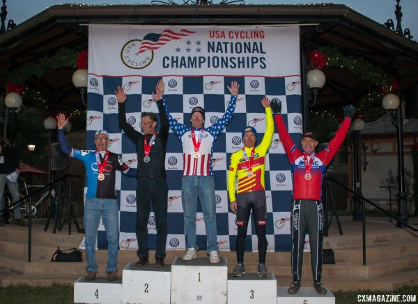 2016 Cyclocross National Championships - Masters Men © Cyclocross Magazine